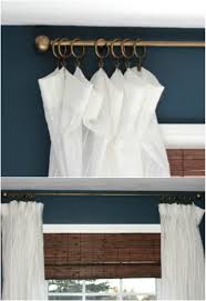 16 diy curtain rods and hooks that give you gorgeous style on a