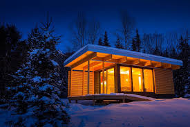 Sips Cabin A Tiny Modern Cabin From Wood Structure Youtube