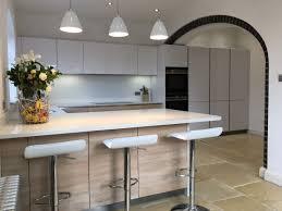 Handleless Kitchen Cabinets High Gloss Handleless Brickendon Blax Kitchens Ltd