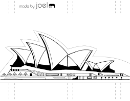 gingerbread writing paper made by joel paper city sydney opera house and luna park related posts