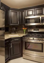 Elegant Kitchen Cabinets Furniture Elegant Kitchen Island With Cenwood Appliance And Paint