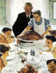 images of a thanksgiving dinner rockwell u0027s thanksgiving parodies