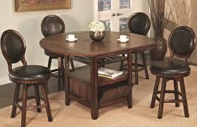 u s furniture inc 2251 2252 5 piece round top storage pub table