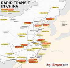 Fuzhou China Map by Chinese Public Transportation A History And A Vision To The