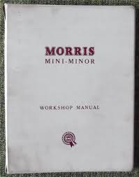28 morris minor workshop manual morris minor factory