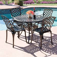 5 Pc Patio Dining Set - best choice products 42