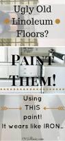Best Kitchen Flooring Ideas Best 20 Linoleum Kitchen Floors Ideas On Pinterest Painted