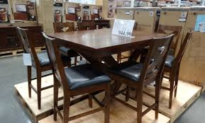 dining room thrilling steve silver gabrielle 9 piece dining room
