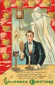 41 best halloween postcards finding true love images on pinterest