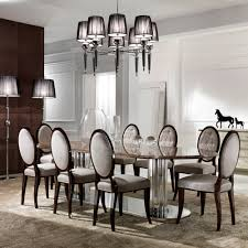 italian style dining table and chairs with design picture 6557