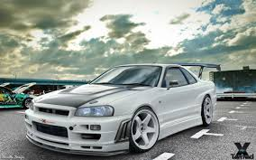 nissan skyline drift car nissan skyline gtr r34 wallpapers wallpaper cave