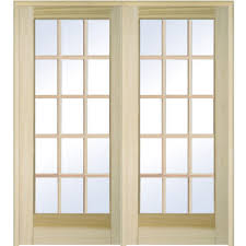 mmi door 61 5 in x 81 75 in classic clear glass full lite