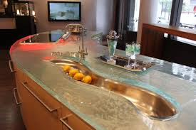 bathroom design wonderful gray kitchen island with recycled glass