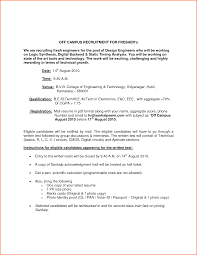 Sample Resume Format For Bcom Freshers by Civil Engineer Fresher Doc Make Resume Contract Mechanical
