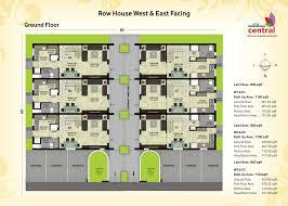 narrow row house floor plans