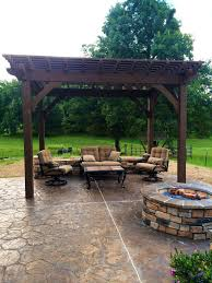 Custom Gazebo Kits by Easy Install 10 U0027 14 U0027 Cedar Diy Pergola Kit Western Timber Frame