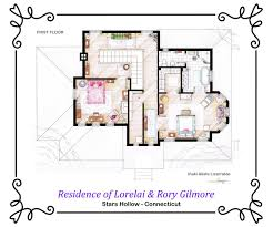 742 Evergreen Terrace Floor Plan Gallery Of From Friends To Frasier 13 Famous Tv Shows Rendered In