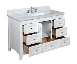 Bathroom Vanity With Tops by Kitchen Bath Collection Kbc388wtcarr Abbey Bathroom Vanity With