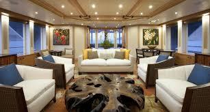 luxury yacht charter yacht arianna main salon delta marine