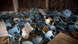 rio u0027s olympic venues look like hell just six months after the games