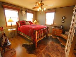 Cowboy Style Home Decor Western Style Bedroom Furniture Platform Bed With Shelving