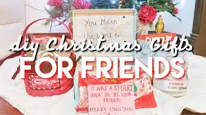 diy last minute xmas gifts for friends 2015 ft sophia youtube