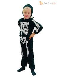 Kids Skeleton Halloween Costume by Age 2 3 Childrens Skeleton Costume Boys Girls Toddler Kids