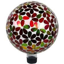 Gazing Ball Fountain 10 Inch Mosaic American Flag Gazing Ball Walmart Com