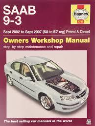 saab 9 3 service and repair manual 9781785210075 amazon com books
