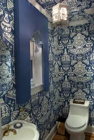 Small Powder Room Wallpaper Ideas 175 Best Wall Treatments Images On Pinterest Wall Treatments