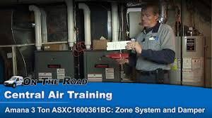 hvac zone system and damper overview for heating u0026 cooling youtube