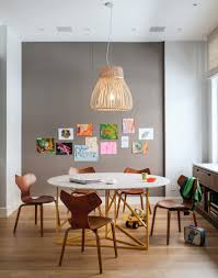 spacious kitchen with kids friendly harmonious interior set yet