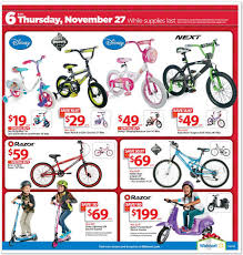 Thursday Thanksgiving Sales View The Walmart Black Friday Ad For 2014 Deals Kick Off At 6