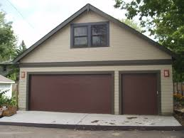 3 Car Garage High Pitch Storage Room Above Sussel Builders