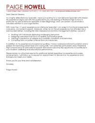 Grad School Resume Examples  behavior specialist cover letter     happytom co Behavior Specialist Cover Letter Examples   grad school resume examples
