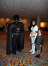 females dressed as darth vader