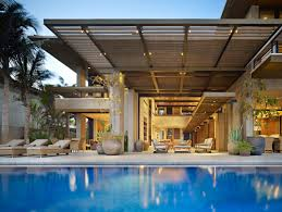 Villa Modern by Modern Villa In Mexico By Olson Kundig Architects