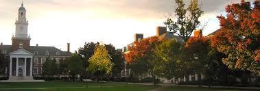 Johns Hopkins University Commencement       Society of Scholars