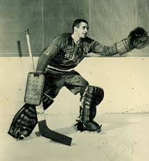 Claude Dufour was a career minor league goaltender who toiled in the Montreal Canadiens system for ... - 12claude_dufour_totems