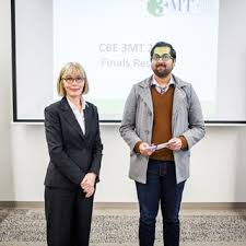 Keeping it simple  CBE Three Minute Thesis success for PhD student Rajiv