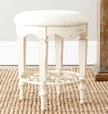 Vanity Stools With Wheels Amh4007a Vanity Stools Furniture By Safavieh