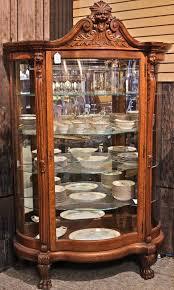 Oak Curio Cabinet Curio Cabinet Best Curio Cabinets Images On Pinterest China