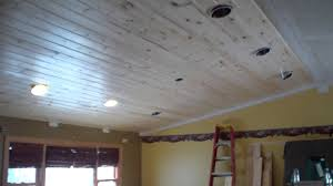 tongue u0026 groove pine ceiling installation youtube