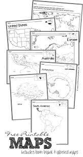 Printable Map Of The United States 320 Best Images About Geography On Pinterest Homeschool States
