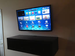 Hidden Cable Tv Wall Mount Flat Screen Tv Wall Mount Installation With All Wires Hidden And