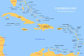 Palm Island Florida Map by Caribbean Map Free Map Of The Caribbean Islands