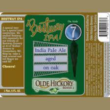 Bestway IPA : Olde Hickory Brewery : BreweryDB.