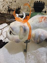 buy rosehip ceramic cat on livemaster online shop