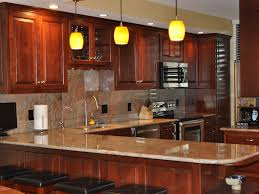 Beautiful Kitchen Backsplash Ideas Download Kitchen Backsplash Cherry Cabinets Black Counter