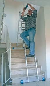 aluminum ladder folding multifunction stabilo krause werk